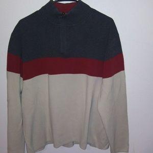 Vintage gap color block sweater